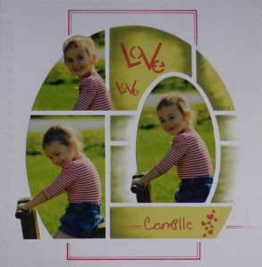 Page Courtesy of AZZA Europe.  'Love' Texture stencil has been used GAB 230.