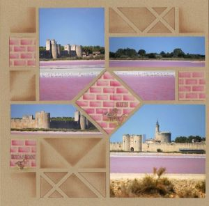 Courtesy of AZZA Europe.  Pink bricks, what fun!