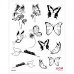 Butterfliesthemsekitstamp
