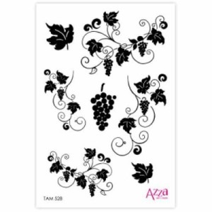 Grape Vine Mini Stamp - TAM528-400x400