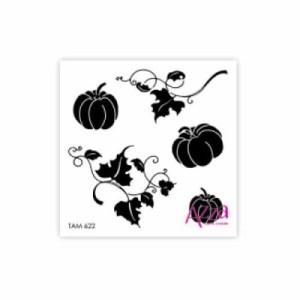 Pumpkin Microstamp -TAM622-400x400
