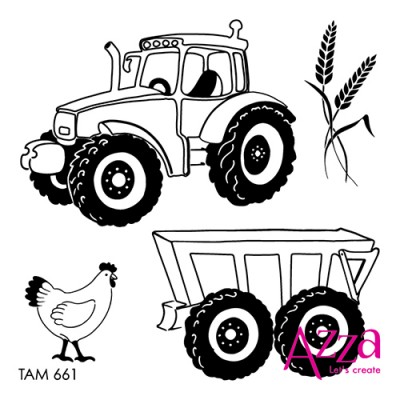 Tractors micro stamp