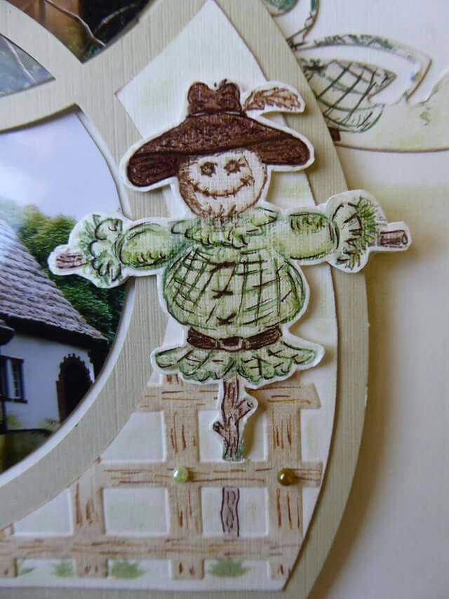Decoration scarecrow